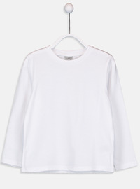 Crew neck - White - Boys` T-Shirt