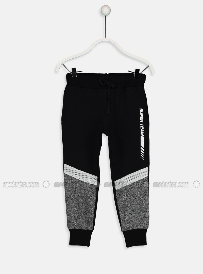 Black - Boys` Tracksuit