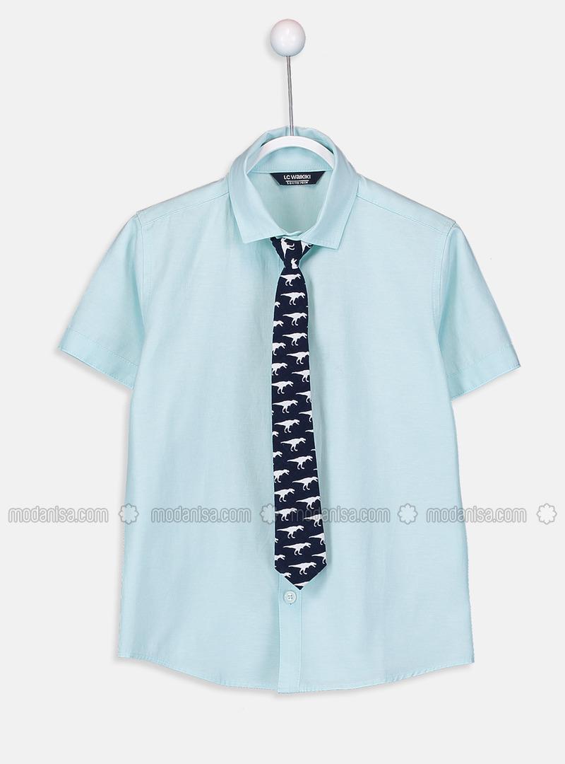 Blue - Boys` Shirt