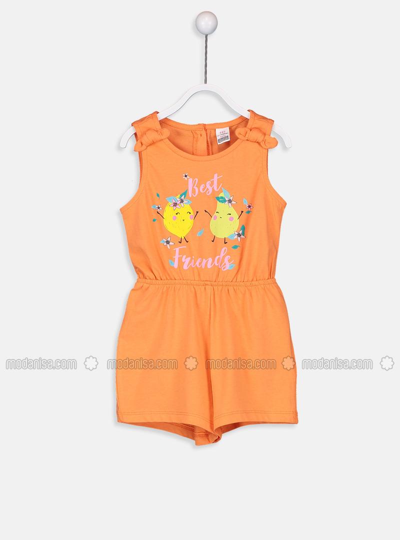 Orange - Baby-Shorts