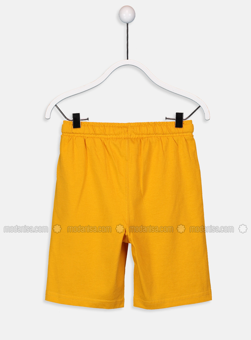 0c258adbc8 Yellow - Boys` Shorts