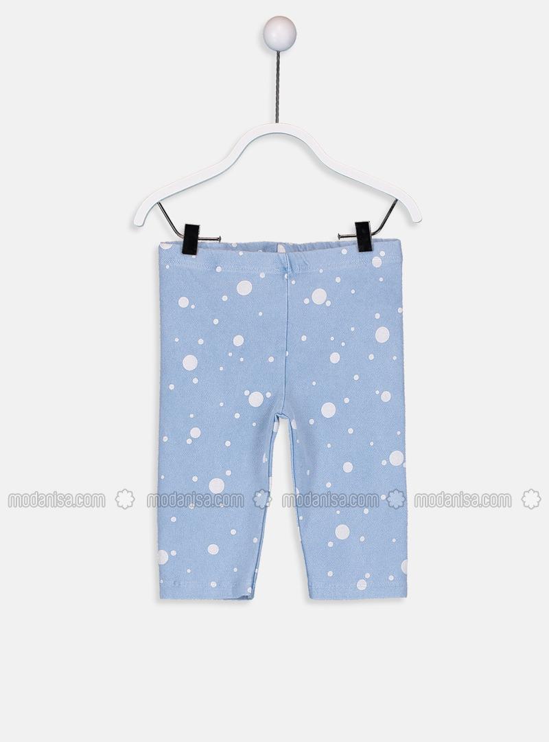 Indigo - baby tights