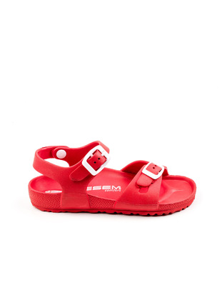 Red - Girls` Slippers - Esem