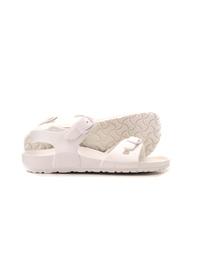 White - Girls` Slippers