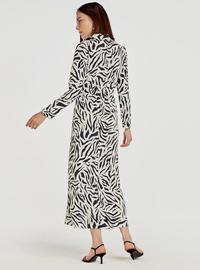 Printed - Black - Dress