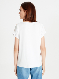 Crew neck - White - T-Shirt