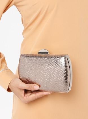 Silver - Clutch Bags / Handbags - Varolli