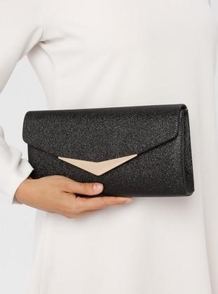 Black - Clutch Bags / Handbags - Varolli