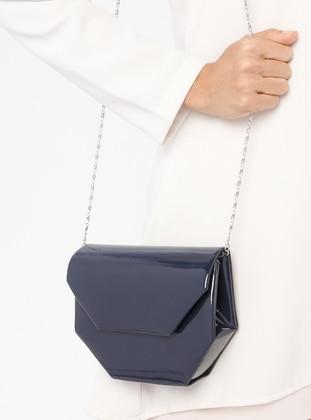 Navy Blue - Clutch Bags / Handbags - Varolli