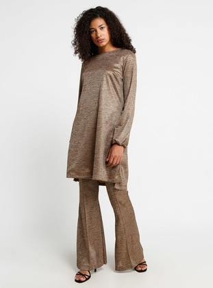 Gold - Crew neck - Tunic
