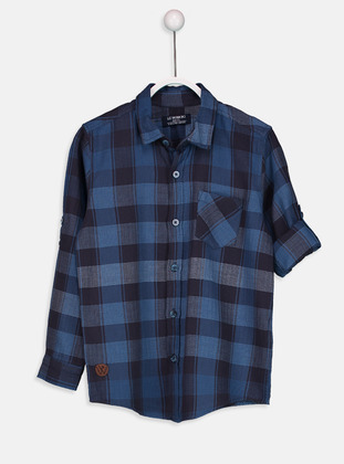 Blue - Boys` Shirt