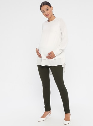Khaki - Maternity Pants