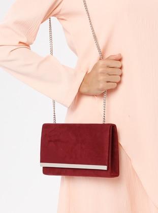 Maroon - Maroon - Clutch Bags / Handbags