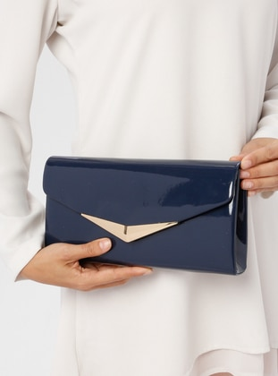 Navy Blue - Navy Blue - Clutch Bags / Handbags