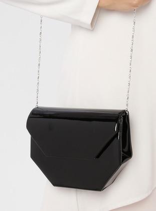 Black - Black - Clutch Bags / Handbags - Nazart