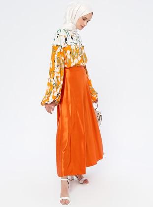 Terra Cotta - Fully Lined - Skirt