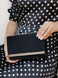 Black - Black - Clutch Bags / Handbags