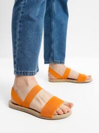 Orange - Sandal - Sandal