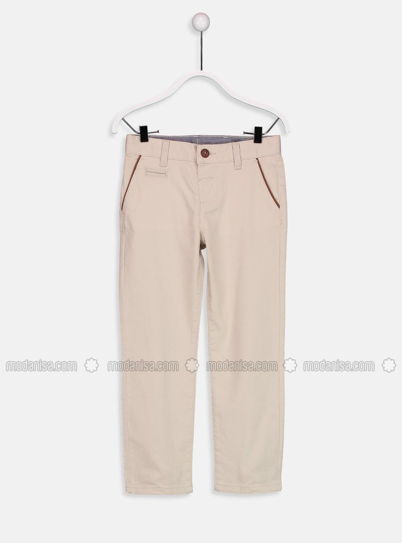 Beige - Boys` Pants