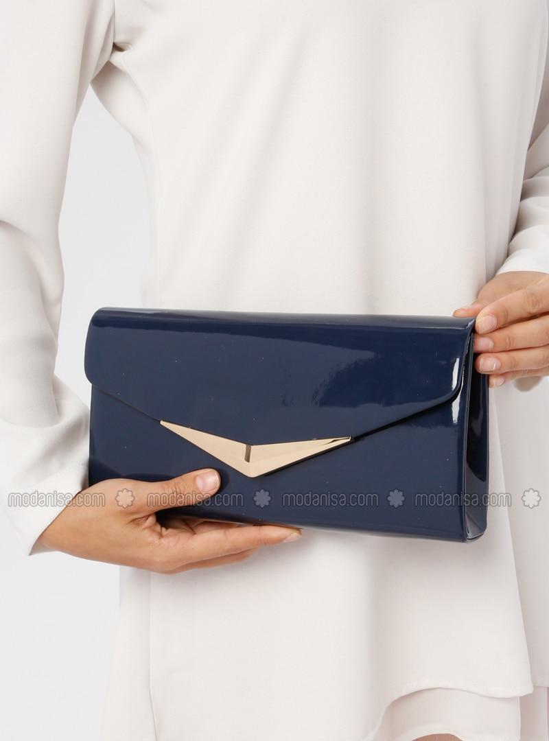 Navy Blue - Navy Blue - Clutch Bags / Handbags