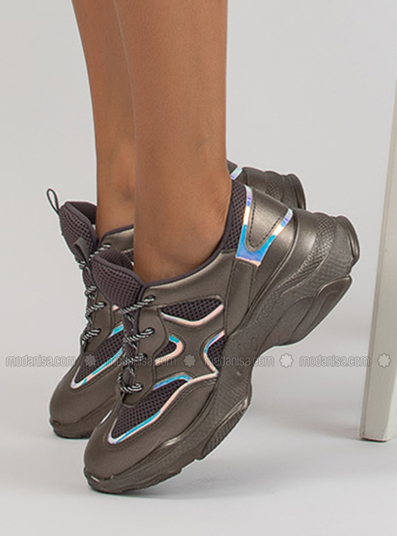 Silver - Sport - Sports Shoes
