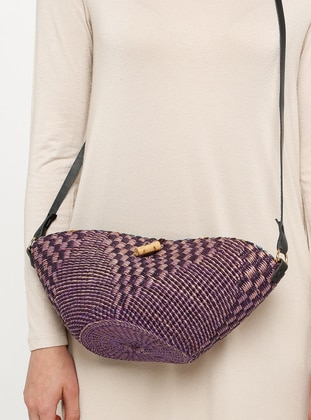 Purple - Shoulder Bags