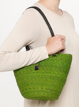 Green - Black -  - Shoulder Bags