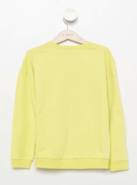 Green - Girls` Sweatshirt