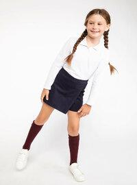 Navy Blue - Girls` Skirt