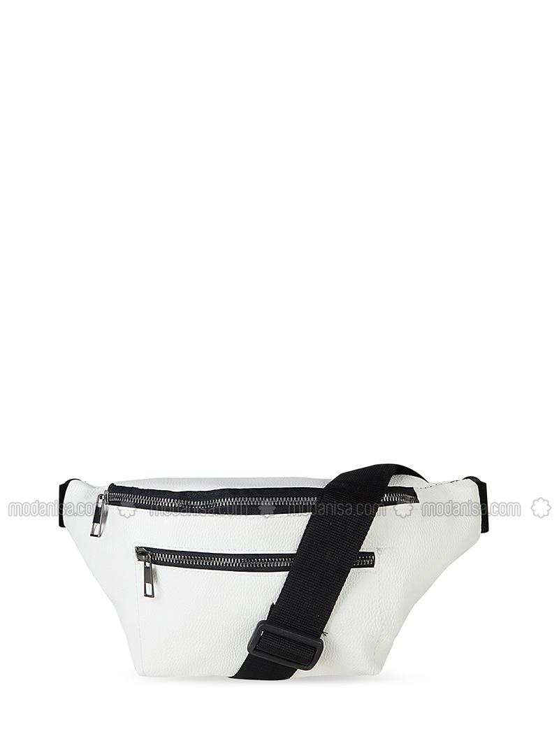 White - Bum Bag