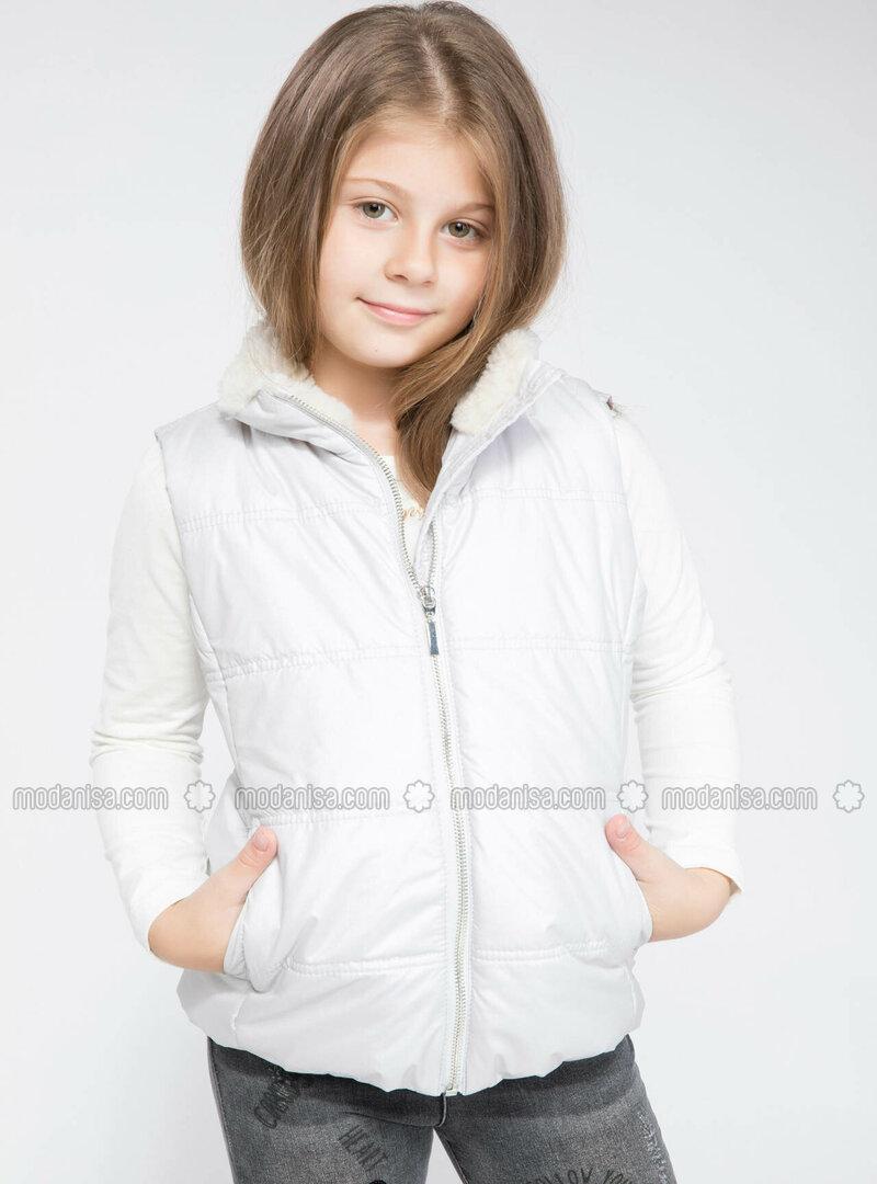 Silver tone - Girls` Vest