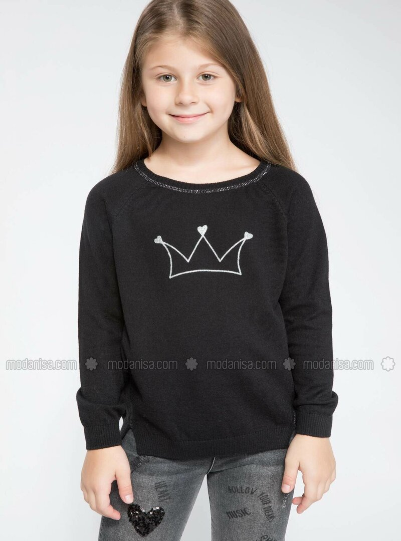 Anthracite - Girls` Pullovers