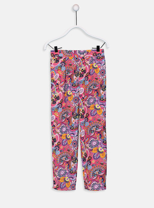 Pink - Girls` Pants - LC WAIKIKI