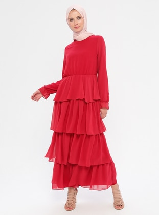 Coral - Unlined - Dress