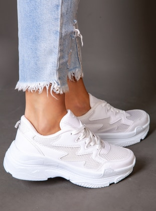 White - Sport - Sports Shoes - Ayakkabı Havuzu