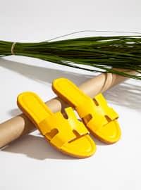 Yellow - Sandal - Slippers