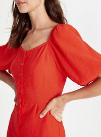 Orange - Dress