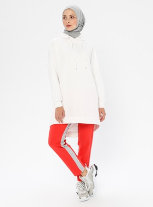 Coral - Coral - Cotton - Tracksuit Bottom
