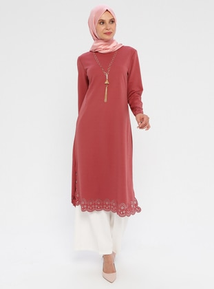 Dusty Rose - Crew neck - Tunic