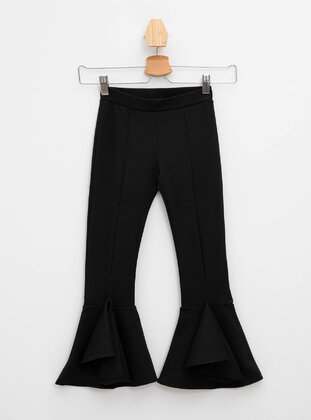 Black - Girls` Pants