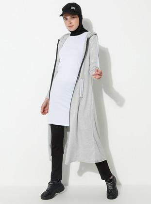 White - Ecru - T-Shirt - Atölye