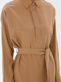 Camel - Point Collar - Tunic