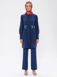 Indigo - Blue - Unlined - Suit