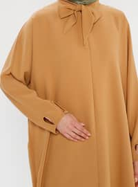 Camel - Polo neck - Tunic