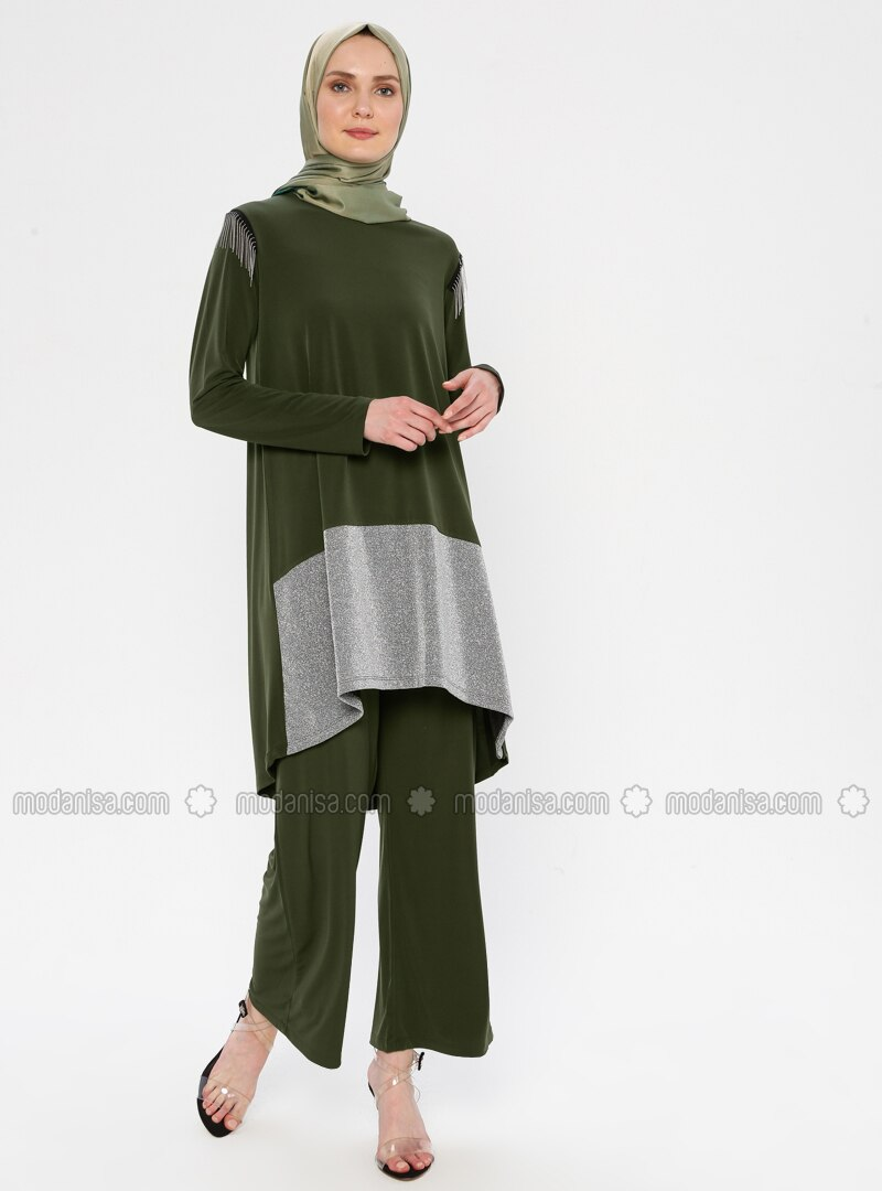 Khaki - Unlined - Suit
