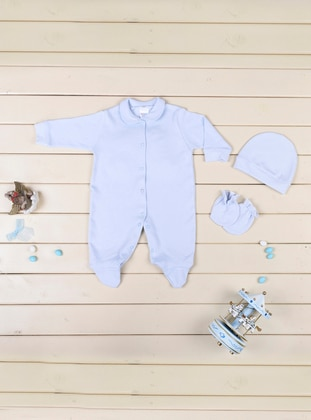 Round Collar - Baby Blue - Baby Care-Pack