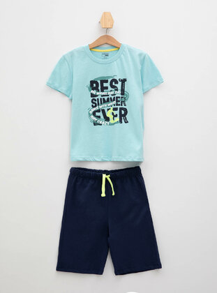 Turquoise - Boys` Suit