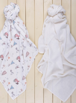 Multi - White - Multi - Baby Home Textile
