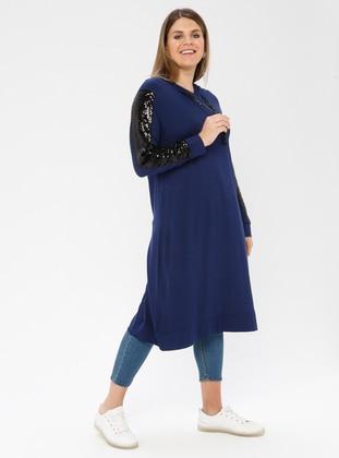 Indigo - Viscose - Plus Size Tunic