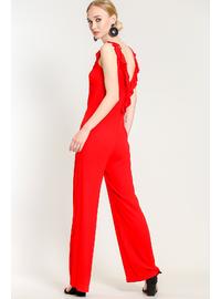 Red - Jumpsuit